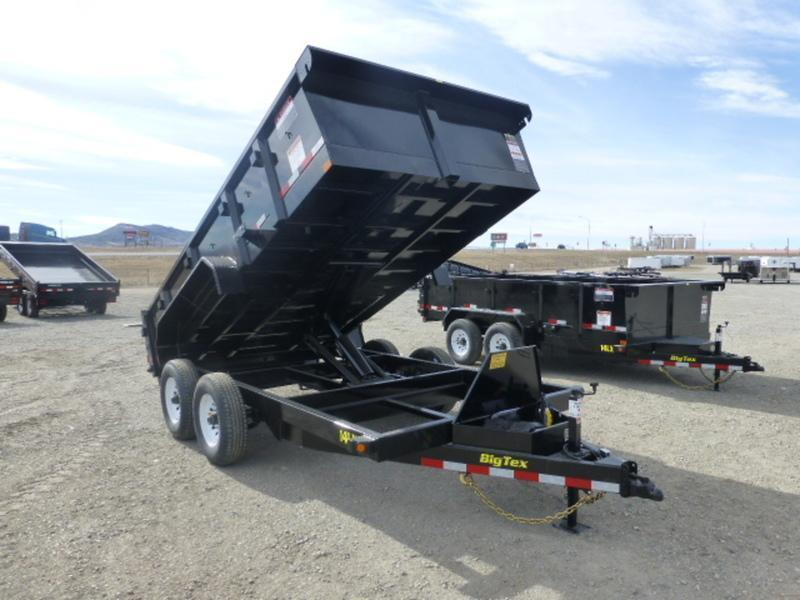2017 Big Tex 14LX 83X14 Dump Trailer