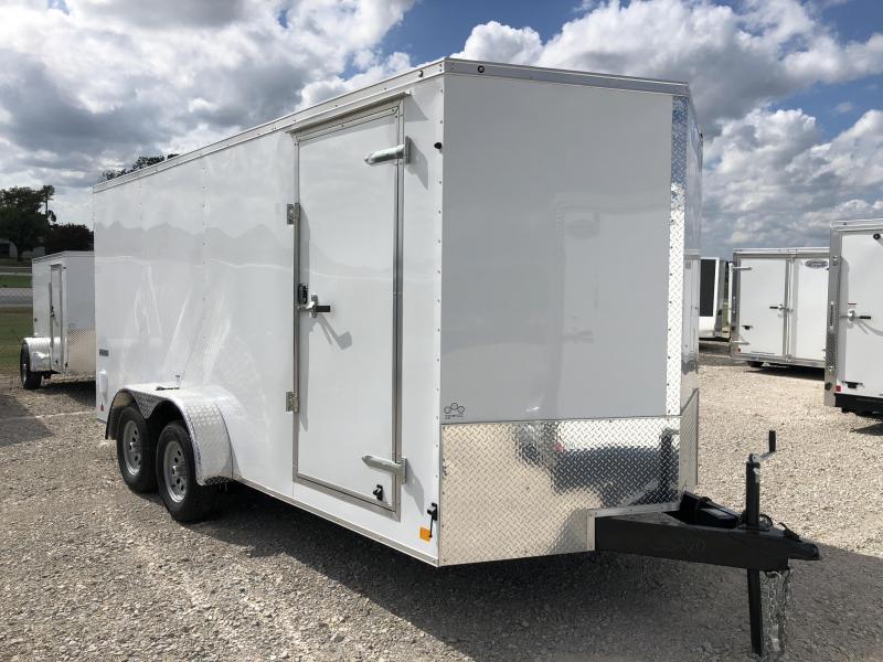 2019 Continental Cargo 7X16 Enclosed Cargo Trailer