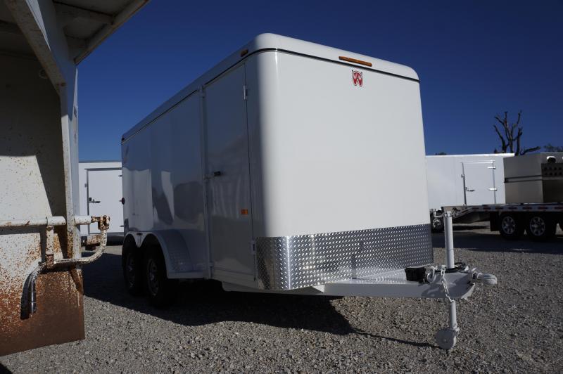 2019 W-W Trailer 20X8 Enclosed Cargo Trailer