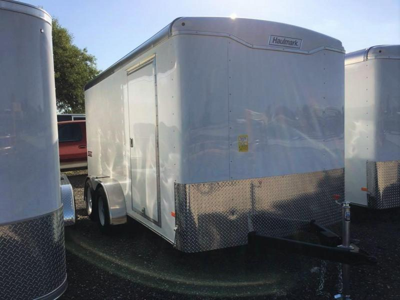 2017 Haulmark 7'X14' Transport Enclosed Trailer