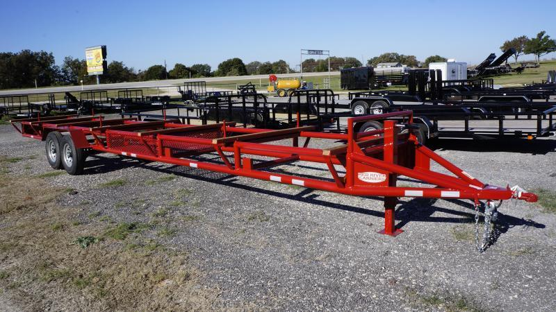 2016 Red River Carriers 32' Pipe Hauling Trailer