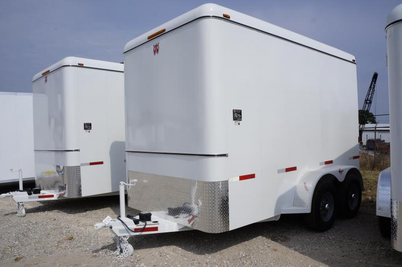 2018 W-W Trailer 12'X6.8' Shower Shell Enclosed Cargo Trailer