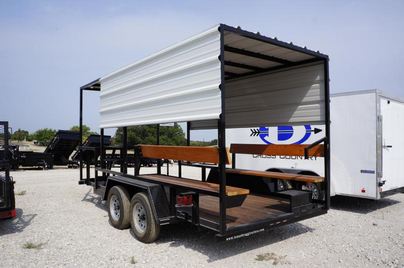 2018 Texas Bragg Trailers 16' Cooling Trailer