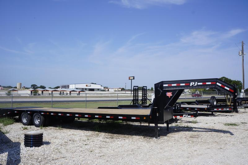 2019 PJ Trailers 32' Low-Pro Flatbed Trailer