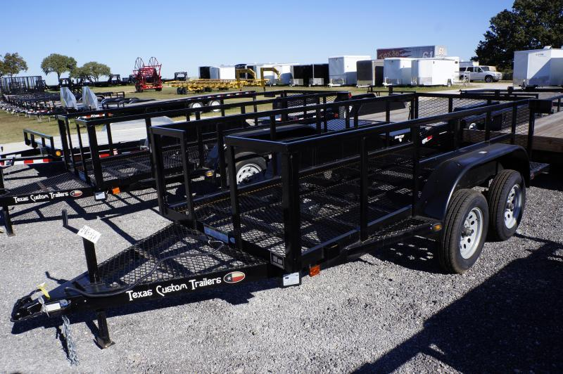 2016 Bestbilt Trailers 12' Custom High Side Utility Trailer