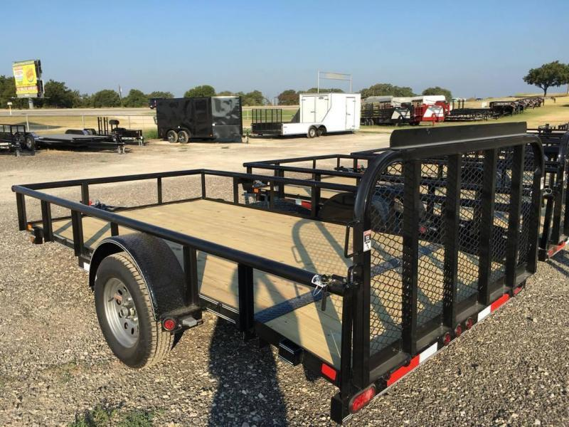 2018 East Texas 6'x12' 3K Single Axle Utility Trailer