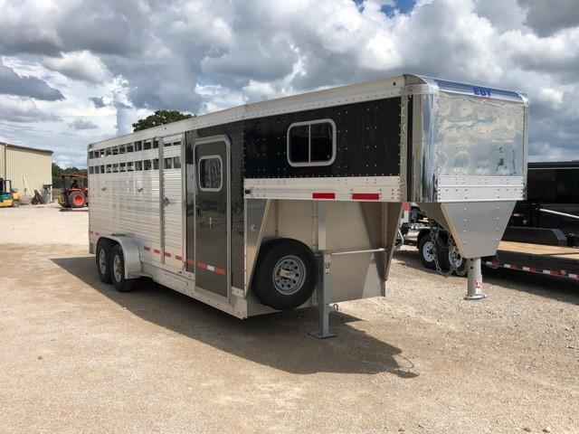 2019 Eby Trailers 22' Combo Package Livestock Trailer