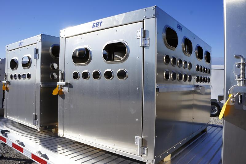 2018 Eby Trailers 6' Livestock Box