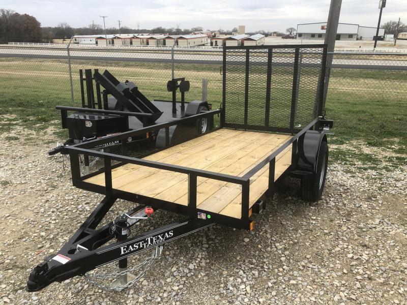 2018 East Texas 5X10 ECONO Single Axle 3K Trailer