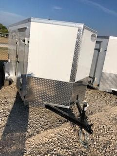 2018 Continental Cargo 5'X10' V-Series Enclosed Cargo Trailer