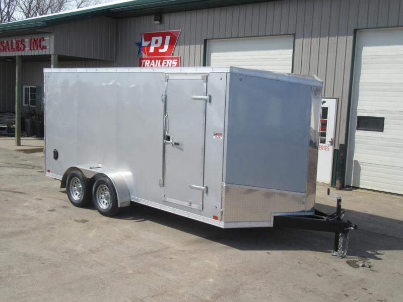 2019 7'x16' Discovery Enclosed Trailer