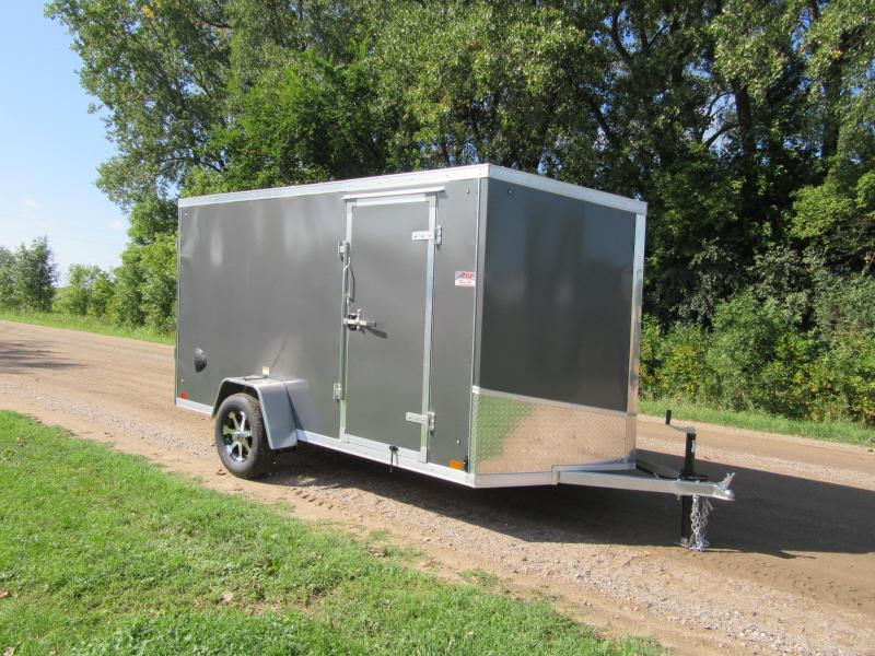 2020 Discovery Trailers Aluminum Enclosed Cargo Trailer