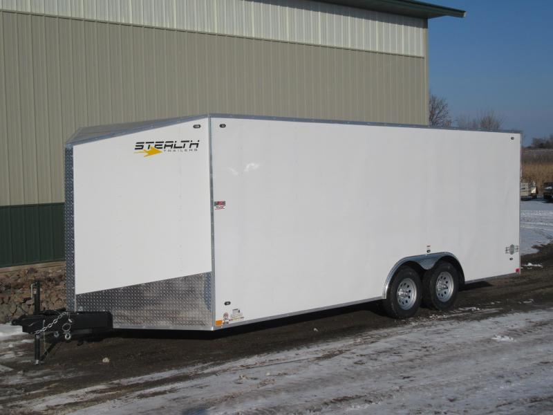 2019 8.5'x20' Stealth Mustang Enclosed Trailer