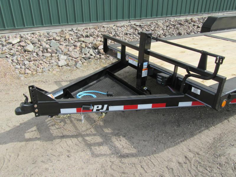 "2020 PJ Trailers HD 6"" Channel Tilt Equipment Trailer"