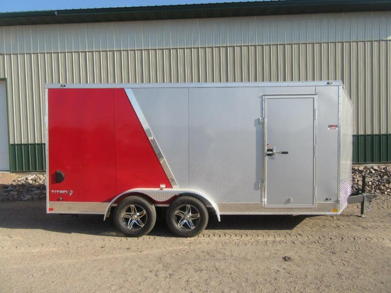 2018 7'x16' Stealth Titan Enclosed Cargo Trailer
