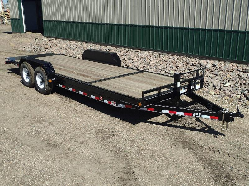 "2020 PJ Trailers 22' x 6"" Channel Equipment Tilt Equipment Trailer"