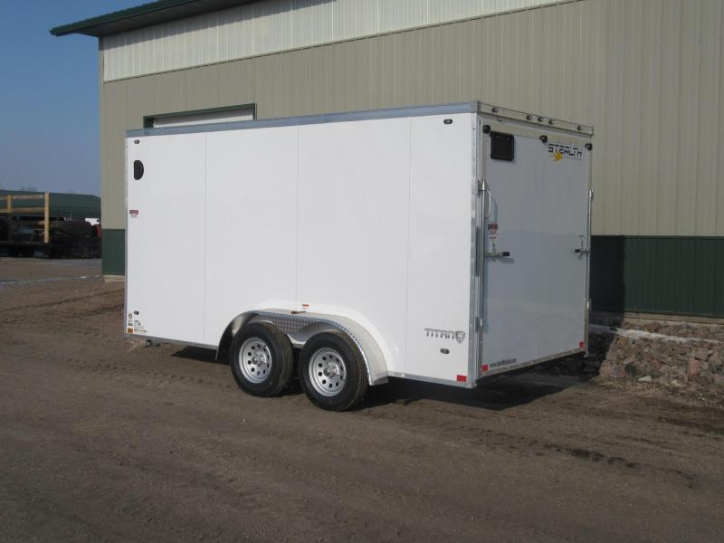 2019 7'x14' Stealth Titan Enclosed Trailer