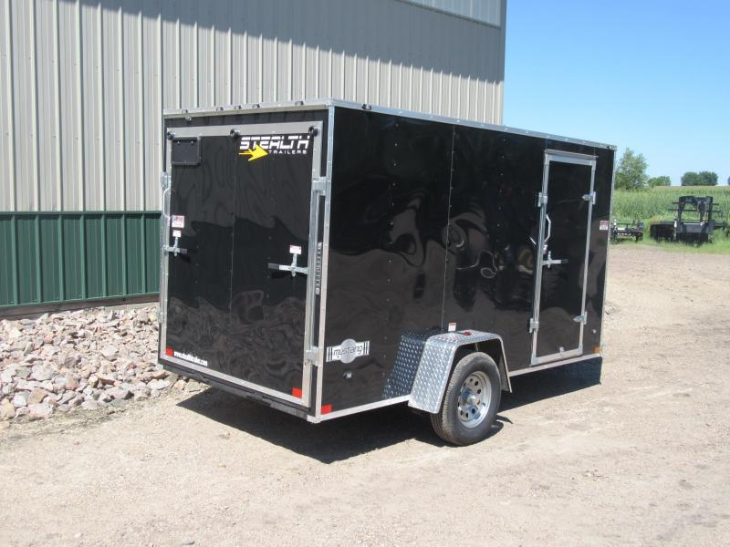 2019 6'x12' Stealth Enclosed Trailer