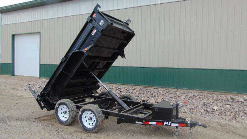 "2019 PJ 10'x60"" Utility Dump Trailer"