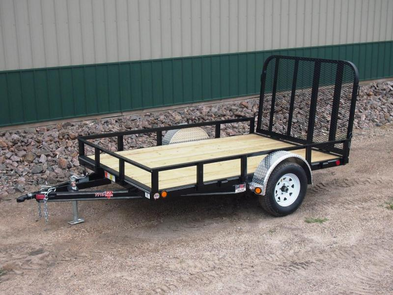 "2019 PJ 10'x77"" Single Axle Channel Utility Trailer"