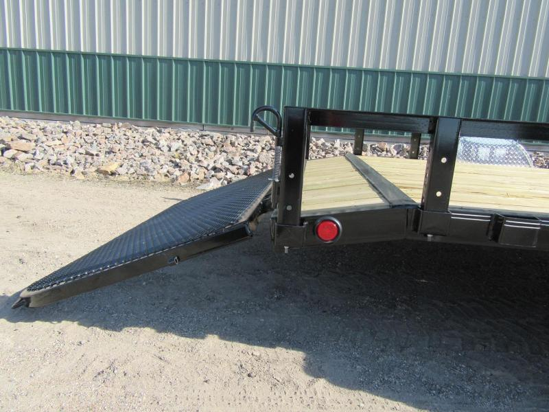 "2019 PJ 12'x83"" Single Axle Channel Utility Trailer"
