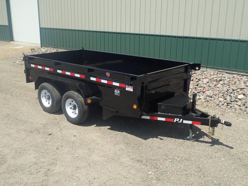 "2020 PJ 12'x72"" Tandem Axle Dump Trailer"