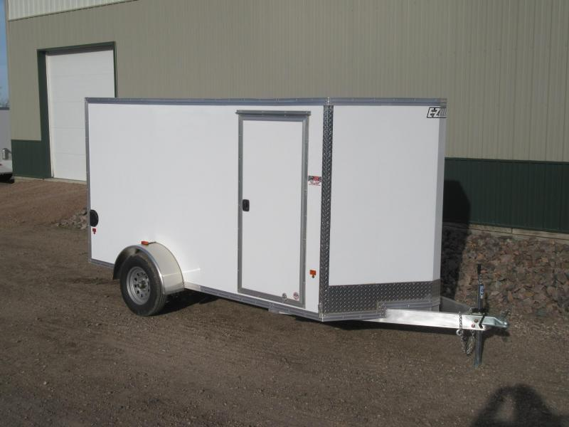 2018 6'x12' EZ Hauler Aluminum Enclosed Trailer