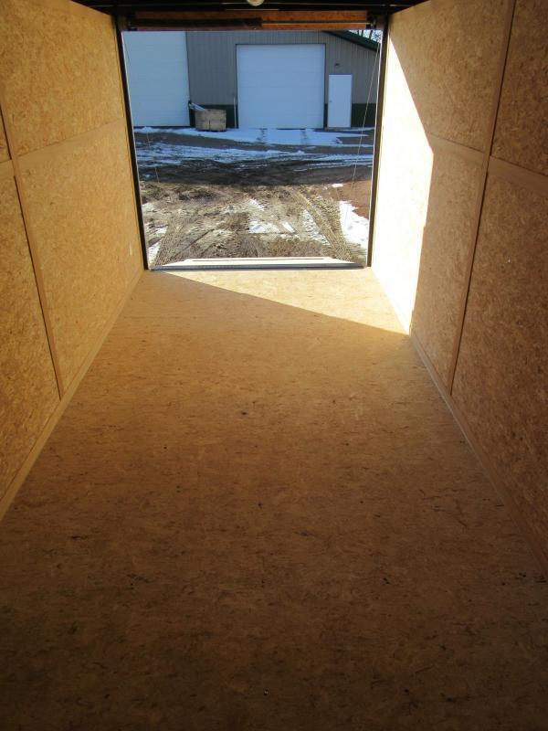 2019 7'x16' Discovery Enclosed Construction Trailer Enclosed Cargo Trailer