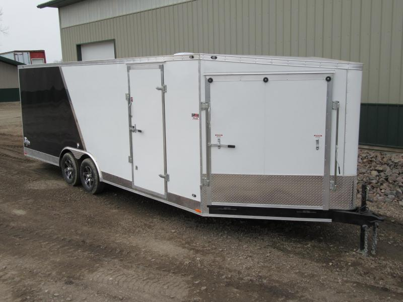 2018 8.5'x27' Stealth Titan Snowmobile Trailer