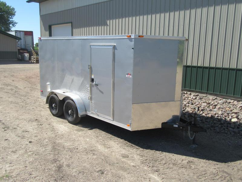 2018 7'x14' ABC Enclosed Trailer