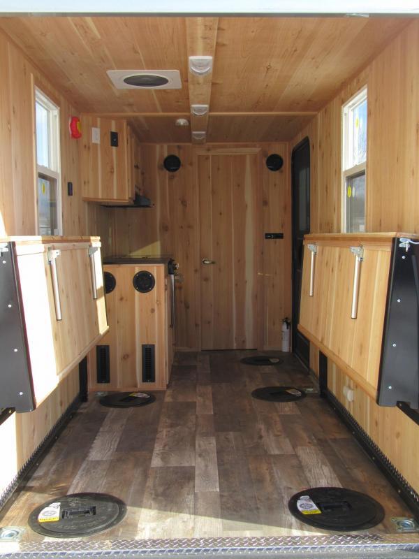 2019 6.5'x14' Polar Crib Igloo - Toyhauler Fish House