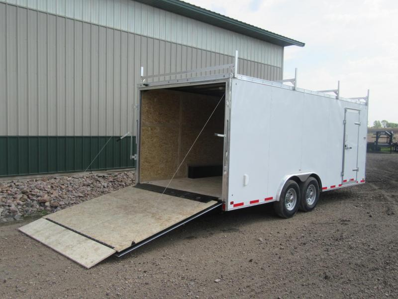 2019 8.5x20 Discovery Enclosed Contractor Trailer