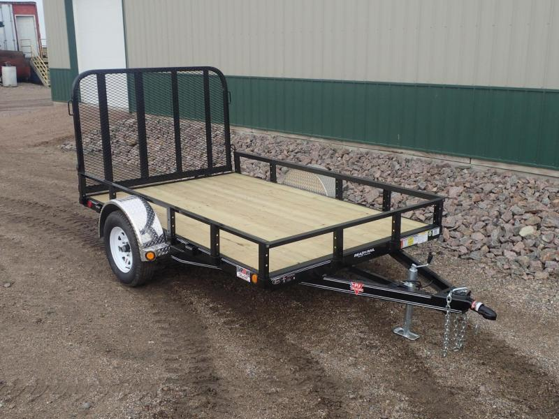 "2020 PJ 10'x77"" Single Axle Channel Utility Trailer"