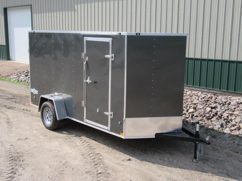 2018 6x12 Stealth Mustang Enclosed Trailer