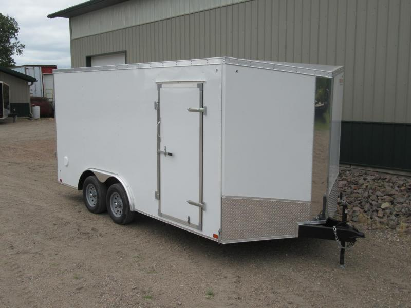 2019 8.5x16 Discovery Challenger Enclosed Trailer