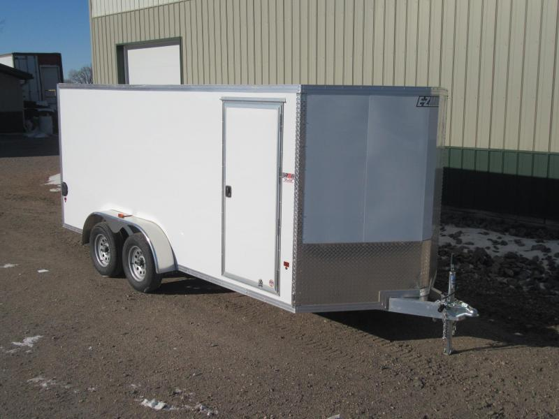 2018 7'x16' EZ Hauler Aluminum Enclosed Trailer