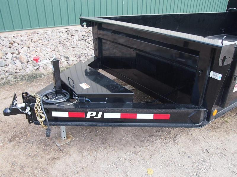 "2019 PJ 16' x 83"" Low Pro Dump Trailer"