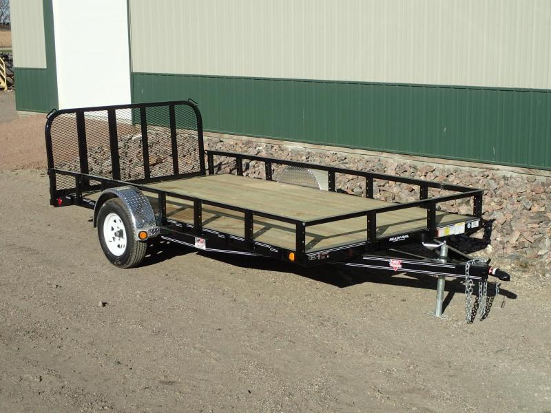 "2020 PJ 14'x83"" Single Axle Channel Utility Trailer"