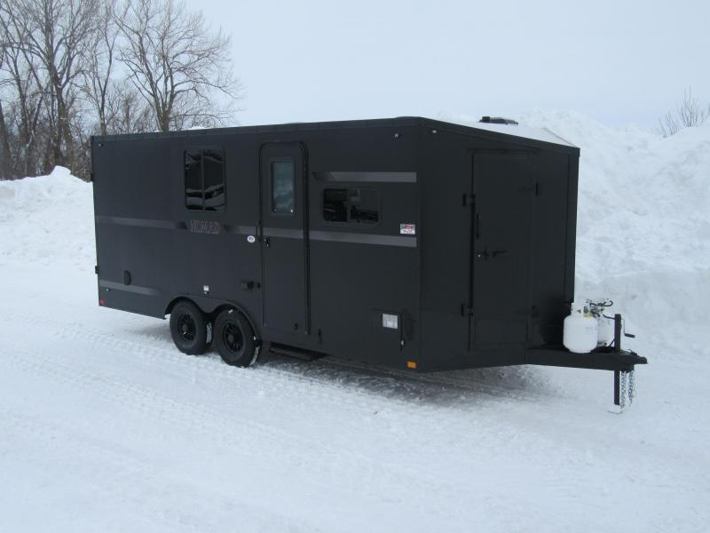 2019 8.5'x18' Stealth Nomad Enclosed Toyhauler