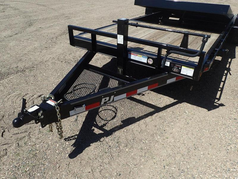 "2019 PJ 22' x 6"" Channel Equipment Tilt Trailer"