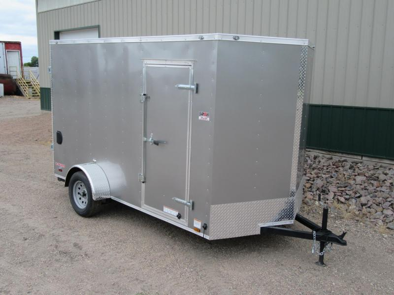 2018 6.5' x 12' Cargo Mate Enclosed Trailer