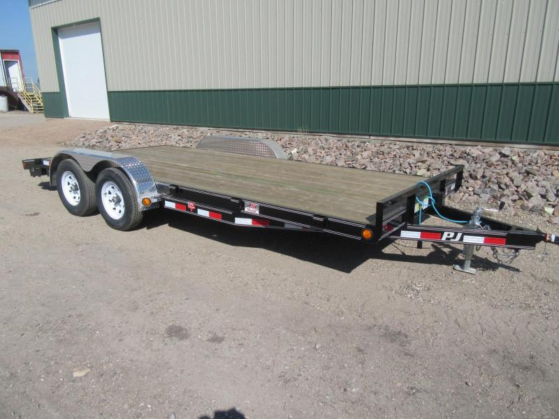 "2018 PJ 18'x5"" Channel Carhauler Trailer"