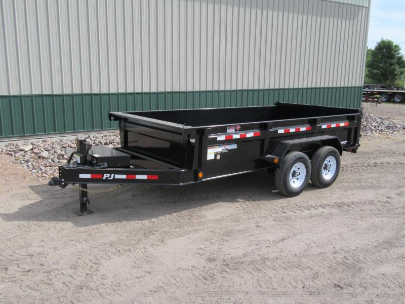 2020 PJ Trailers Low-Pro Dump / DL Dump Trailer