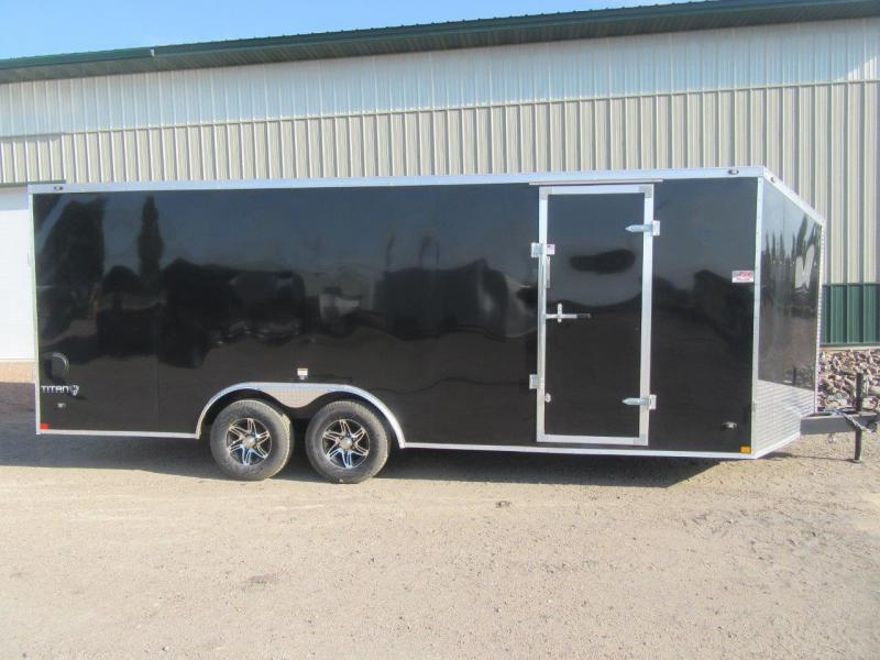 2018 8.5'x20' Stealth Titan Enclosed Cargo Trailer