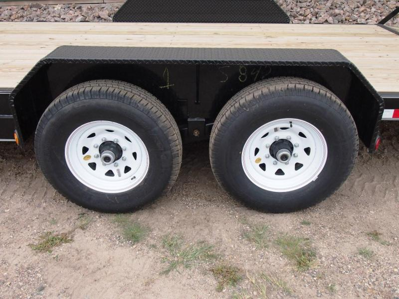 "2019 PJ 18' x 6"" Channel Equipment Trailer"
