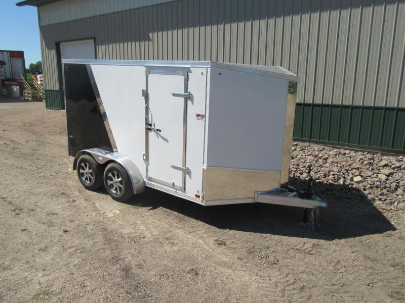 2019 7'x12' TA Discovery Aluminum Enclosed Trailer