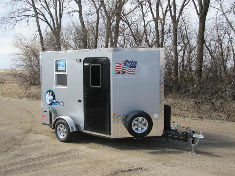 2019 Polar Crib Run & Gun Ice/Fish House Trailer