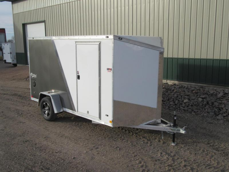 2018 6'x12' Stealth Aluminum Enclosed Trailer