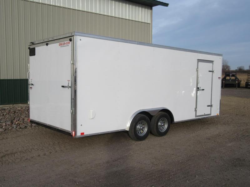 2020 8.5'x20' Discovery 10k Enclosed Trailer