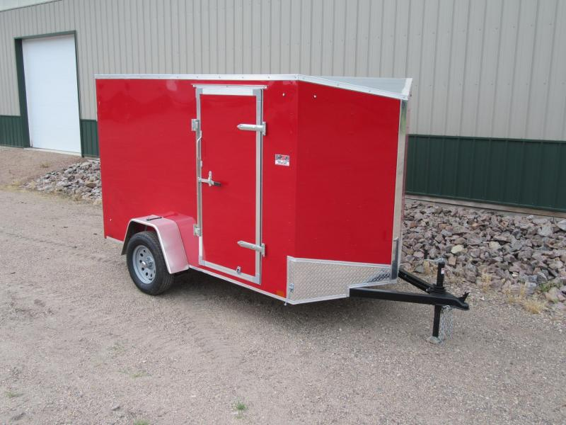 2018 6'x10' Discovery Enclosed Cargo